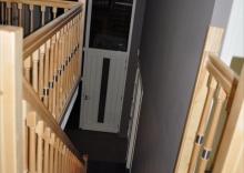 Rechte trap met balustrade for Trap maken bereken